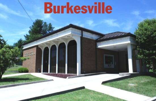 Photo of the right front of the Burkesville, KY Tri-County Electric office.