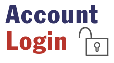 Icon for Account Login and is used as a hotlink button to click through to the landing page for the secure account login.