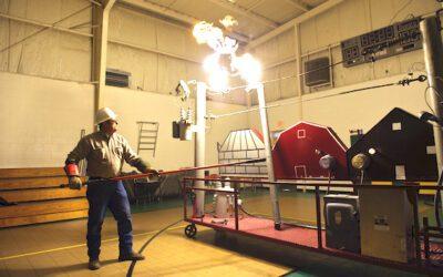 Safety Demonstration Trailer